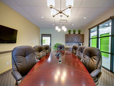 A complete Business Centre with full service conference room is available.